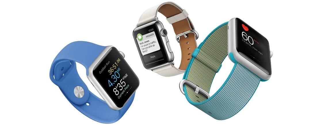 Из каких материалов выполнены ремешки для Apple Watch